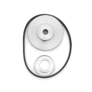 Haas SL 30 Spindle Motor Encoder Pulley Belt Set This repair kit inludes the sweat on pully for the spindle motor, spindle encoder pulley and belt. Please check your machine spindle motor to confirm pulleys.